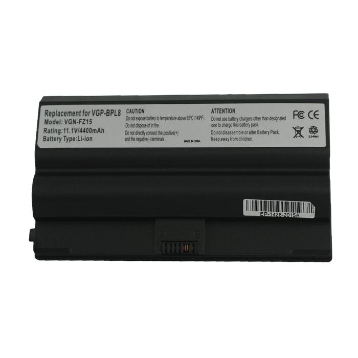 Μπαταρία 4400mAh, 10.8-11.1V, για Sony VAIO VGN-FZ21M, VGN-FZ445E, VGP-BPS8, VGP-BPS8A, VGP-BPS8B, VGP-BPL8, VGP-BPL8A