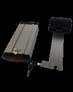 Μπαταρία Σχάρας - 07, Λιθίου LiNiCoMn για Ηλεκτρικά Ποδήλατα 36V 10Ah / Rack mounted Battery for eBikes