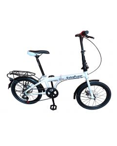 Ποδήλατο Αναδιπλούμενο (Σπαστό) 20 Ιντσών 6 ταχύτητες Δισκόφρενα : μπρος / πίσω