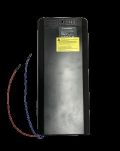 Μπαταρία Σχάρας πολύ μικρη σε μέγεθος HB-083, Λιθίου LiNiCoMn για Ηλεκτρικά Ποδήλατα 36V 10Ah / Very small Rack Mounted Battery for eBikes