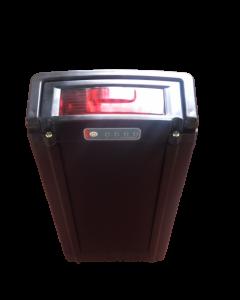 Μπαταρία Σχάρας - 20 Μαύρη, Λιθίου για Ηλεκτρικά Ποδήλατα 36V 9Ah / Rack mounted Battery Black for eBikes