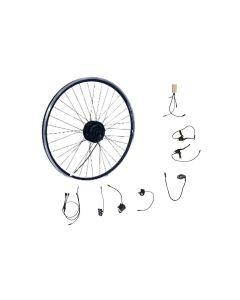 """Πλήρες Κιτ 250Watt Αδιάβροχο (εκτός μπαταρίας) για μετατροπή απλού Ποδηλάτου 28""""  σε Ηλεκτρικό - Πισω Κίνηση"""