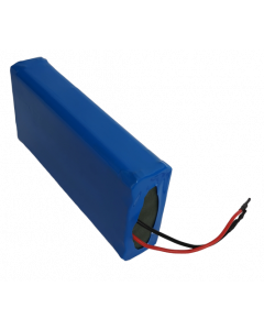 Μπαταρία Σκέτη Εσωτερική, 48V 10Ah για ηλεκτρικό ποδήλατο - eBike, Διαστάσεις 110*45*265mm