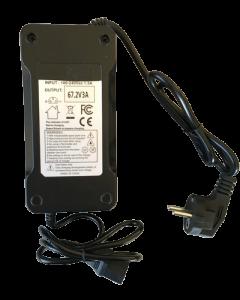 Φορτιστής για μπαταρίες Λιθίου 60V Ηλεκτρικών Ποδηλάτων (67,2V 3A ), Κονέκτορας τύπου PC