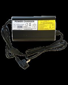 Φορτιστής για μπαταρίες Λιθίου 60V Ηλεκτρικών Ποδηλάτων (67,2V 4A ), Κονέκτορας τύπου PC