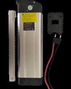 Μπαταρία όρθια για κάτω από σέλα τυπου Silverfish, Λιθίου LiNiCoMn για Ηλεκτρικά Ποδήλατα 36V 10Ah / Silverfish Battery for eBikes