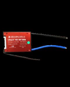 DALY BMS για Μπαταρία LiFePO4 (LFP) 16S 48V  Μέγιστη Συνεχής Εκφόρτιση:30Α Μέγιστη συνεχής Φόρτιση 15A