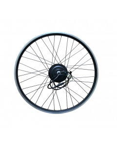 """Ζάντα Ποδηλάτου 26"""" μέ μοτέρ για Ηλεκτρικό Ποδήλατο - Πίσω Κίνηση / eBike Rim with Motor 350 Watt / 36V"""